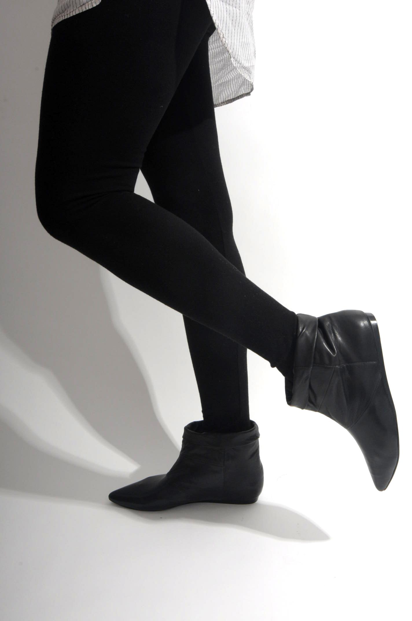 flat boots | KATHRYN AMBERLEIGH